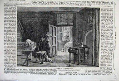 Accademia Di Ritorno 1860 di Horsley della Finestra della Donna di Duenna
