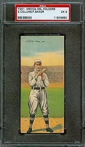 Buy 1911 T201 - Frank Baker & Eddie Collins - PSA 5 -- Mecca Double Folders by T201 - Mecca Double Folders