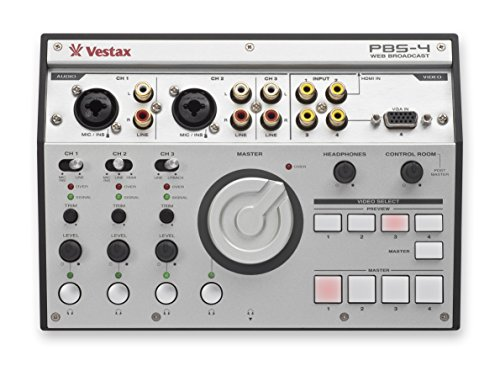 VESTAX PBS4 AUDIO-/VIDEO-MIXER