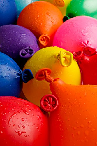 Mylife Multi Colored - Flexible Latex Rubber (100 Count Pack - Standard Size) Water Bomb Grenade Balloons (Fantastic For Summer Play)