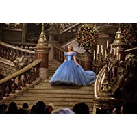 Movie Cinderella (2015) Lily James HD Wallpaper Background