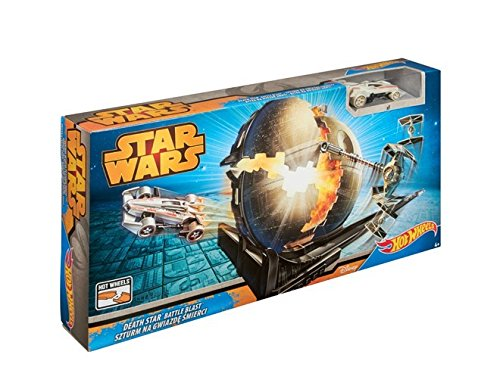 Hot Wheels Star Wars Death Star Battle Blast Track Set - 1