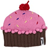 Neff Womens Cupcake Beanie Hat, Strawberry, One Size