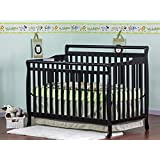 Dream On Me Liberty Collection 4 in 1 Crib, Black