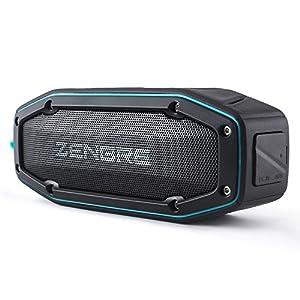 Bluetoothスピーカー、ZENBRE D6 アウトドア/IPX6防水スピーカー