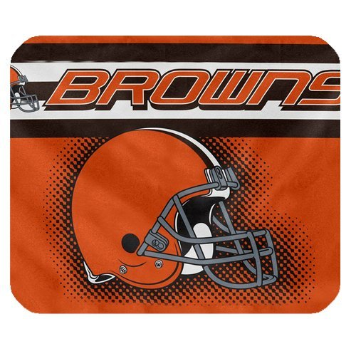 New Diy Design NFL Cleveland Browns High Quality Printing Square Mouse Pad Design Your Own Computer Mousepad For Christmas Gifts at Amazon.com