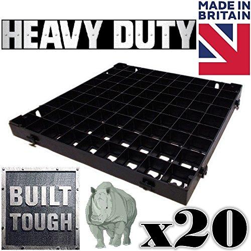 20-x-crazygadgetr-grass-grid-black-plastic-paving-driveway-grid-turf-grass-lawn-path-gravel-protecto