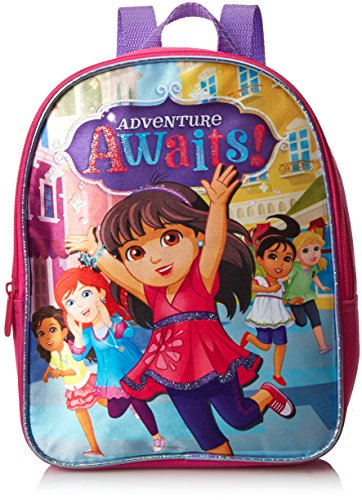 Nickeoldeon Girl's Dora and Friends Mini Backpack, Pink, One Size