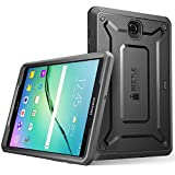 Galaxy Tab S2 9.7 Case, SUPCASE [Heavy Duty] Case for Samsung Galaxy Tab S2 9.7 Tablet [Unicorn Beetle PRO Series] Rugged Hybrid Protective Cover w Builtin Screen Protector Bumper (Black/Black)