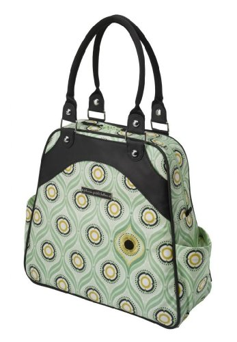 Petunia Pickle Bottom Sashay Satchel In Captivating Corinth front-803977