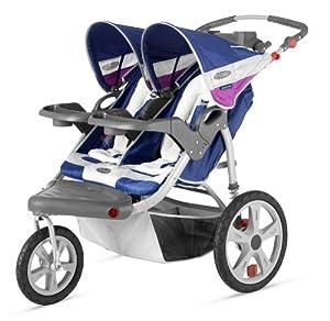 Amazon.com: InStep Grand Safari Double Swivel Stroller ...