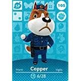 Nintendo Animal Crossing Happy Home Designer Amiibo Card Copper 105/200 USA Version