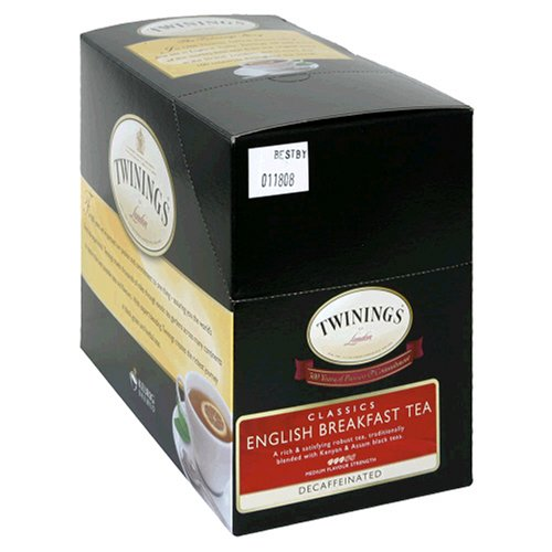 Twinings English Breakfast Decaf Tea, K-Cup Portion Pack for Keurig K-Cup Brewers, 24-Count (Pack of 2)
