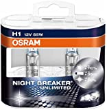 OSRAM NIGHT BREAKER UNLIMITED 64150NBU-HCB Glühlampe, H1, 12V, Duobox
