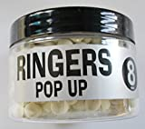 Ringers Shellfish White Highly Flavored 8mm Pop Ups
