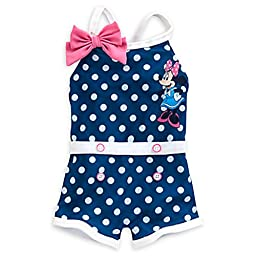 Disney Baby Minnie Mouse One Piece Swimsuit (12-18 Month)