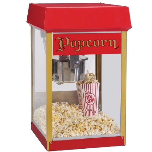 Gold Medal 2404 Red Fun Pop 4 oz. Popcorn Popper (Ez Popcorn Maker compare prices)