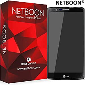 NETBOON® Original LG G3 (D855) Tempered Glass Screen Protector - Anti Explosion, Crystal Clear Screen Guard, Anti-Scratch Screen Protector, Shatterproof, Bubble-free, Oleophobic Coating, 2.5D Round Edge - 9H Hardness Protect Mobile Screen from Dust, Bumps, Scratches, Dirt or any unwanted wear and tear