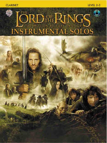 The Lord of the Rings Instrumental Solos: Clarinet (Book & CD)