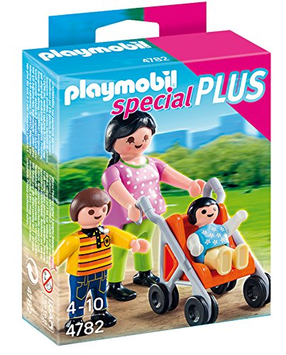 PLAYMOBIL Mother with Children Set - 1