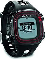 Garmin Forerunner 10 - Montre de running avec GPS intégré - Noir/Rouge