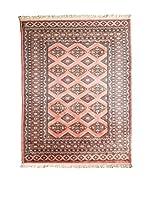 QURAMA Alfombra Kashmir Rojo/Multicolor 186 x 131 cm