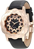 Brillier Women's 10-3F121-01 La Fleur Round Rose Gold Analog Watch by Brillier