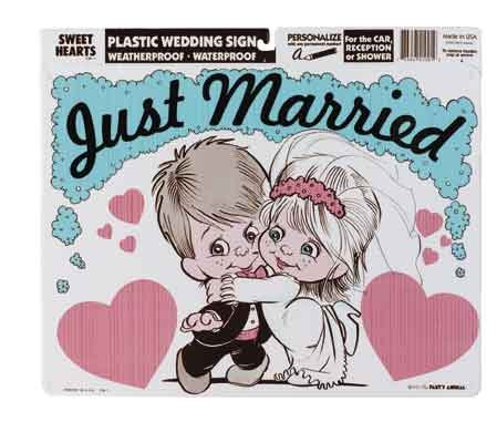 Sweethearts Couple Wedding Sign - Buy Sweethearts Couple Wedding Sign - Purchase Sweethearts Couple Wedding Sign (The Party Animal, Home & Garden,Categories,Patio Lawn & Garden,Outdoor Decor,Banners & Flags)
