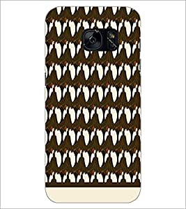 PrintDhaba Pattern D-1515 Back Case Cover for SAMSUNG GALAXY S7 (Multi-Coloured)