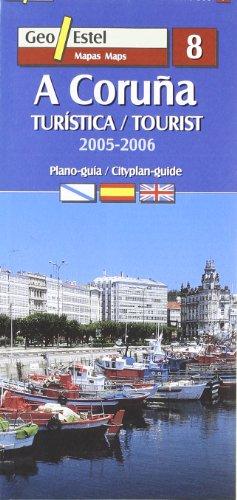 A Coruña: Turística / Tourist E.1:9500 (Ciudades. Planos/Guia)