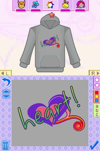 Style Lab Fashion Design Nintendo Ds Software Digital Goods Currency Fonts