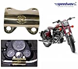 Speedwav Brass Bike Handle Joint Clip-Royal Enfield Classic Chrome