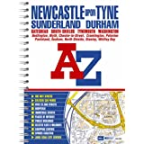 Newcastle upon Tyne Street Atlas (spiral)by Geographers A-Z Map...