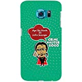 For Samsung Galaxy S6 Aya Hu Kuch To Leke Jaunga ( Aya Hu Kuch To Leke Jaunga, Good Quotes, Green Background ) Printed Designer Back Case Cover By TAKKLOO