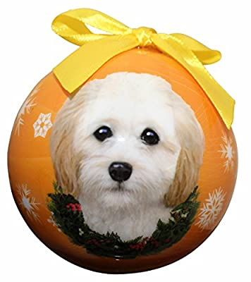 """Cockapoo Christmas Ornament"" Shatter Proof Ball Easy To Personalize A Perfect Gift For Cockapoo Lovers"