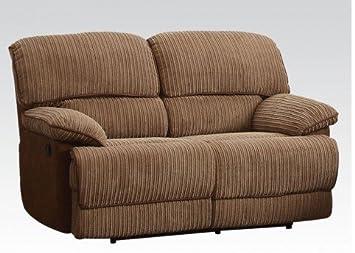 Malvern Light Brown Ultra Plush Loveseat by Acme Furniture