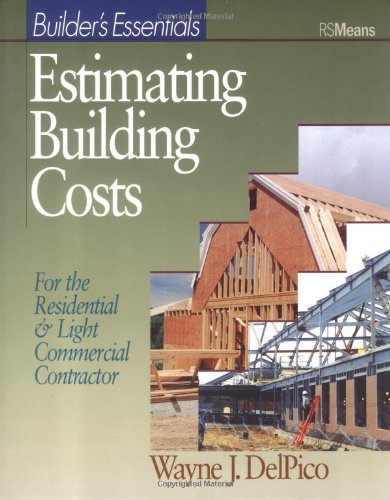 Estimating Building Costs From R S Means At The Book Checkout