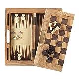 Mainstreet Classics 3-in-1 Wood Game Set