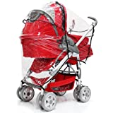 Hauck Eagle All In One Pushchair/Stroller Raincover Professional Heavy Duty Rain Cover