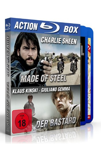 Made of Steel - Der Bastard - Action-Pack (Blu-Ray)