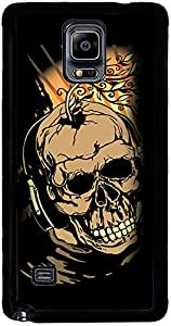 PrintVisa 2D-SGN4-D7636 Abstract Skull Case Cover for Samsung Galaxy Note 4