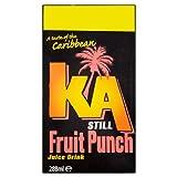 KA Still Fruit Punch Juice Drink 288ml (Pack of 27)