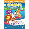 Spanish for Kids DVD Set 2011: Simple Words DVD & Number and Colours DVD