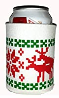 Amazon.com: Reindeer Rudolph Beer Can Coozie Koozie Cover