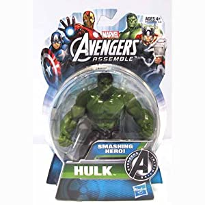 The Avengers All-Star Hulk 4 inch Action Figure