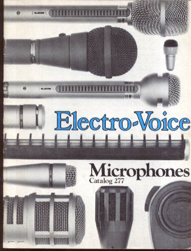 Electro-Voice Microphone Catalog #277 With 1980 Price Sheet