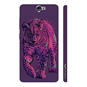 HTC One A9 Pink Cheetah designer mobile hard shell case by Enthopia