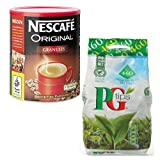 Nescafe 750g Original + PG Tips 460 Tea Bags MULTI-PACK SPECIAL