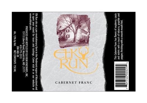 2011 Elk Run Cabernet Franc 750 Ml