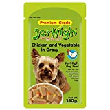 Jerhigh Chicken & Veg In Gravy (150 Gms) Pack Of 3